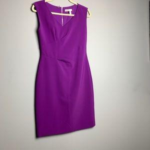 Rebecca Taylor Magenta Fit Dress Size 4